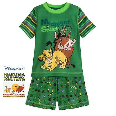 Bonds Disney Lion King Pink Size 6//10 PJs Short Sleep Set Limited Edition