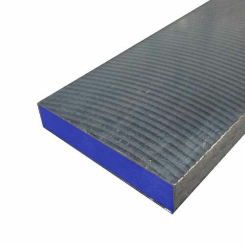 """D2 Tool Steel DeCarb Free Flat 2/"""" x 2-1//4/"""" x 12/"""""""