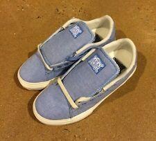 Lakai Howard Select Size 5 Blue Chambray Canvas BMX DC SB Skate Shoes Deadstock
