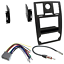 Precision Power Receiver Dash Kit FITS 2005-2007 Chrysler 300// backup camera