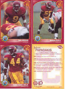 2000-CHP-SAFETY-USC-TROJANS-FOOTBALL-CARD-SET-OF-21-PETROS-PAPADAKIS-MORENO-SGA