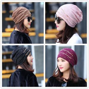 d243f041d Details about New Women Lace Chiffon Ruffle Cancer Chemo Hat Beanie Scarf  Turban Head Wrap Cap