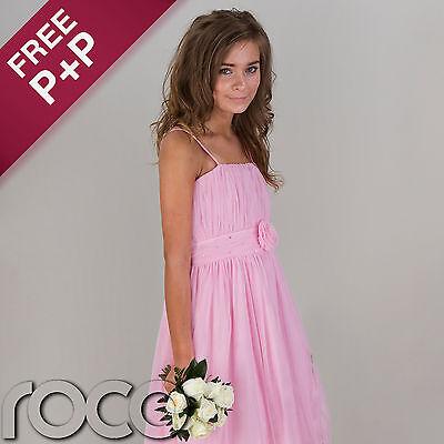 Girls Pink Prom Dresses, Flower Girl Dresses, Bridesmaid Dresses, Girls Dresses