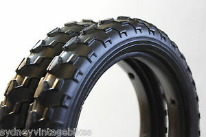 PAIR-SOLID-FOAM-TIRES-PRAM-SCOOTER-BUGGY-STROLLER-Bicycle-Tyre-12-1-2-x-2-1-4