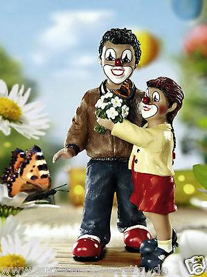 """Gilde Clown  handbemalte Clowns Sammlerfigur Gildeclown  """" My Butterfly"""" 10141"""