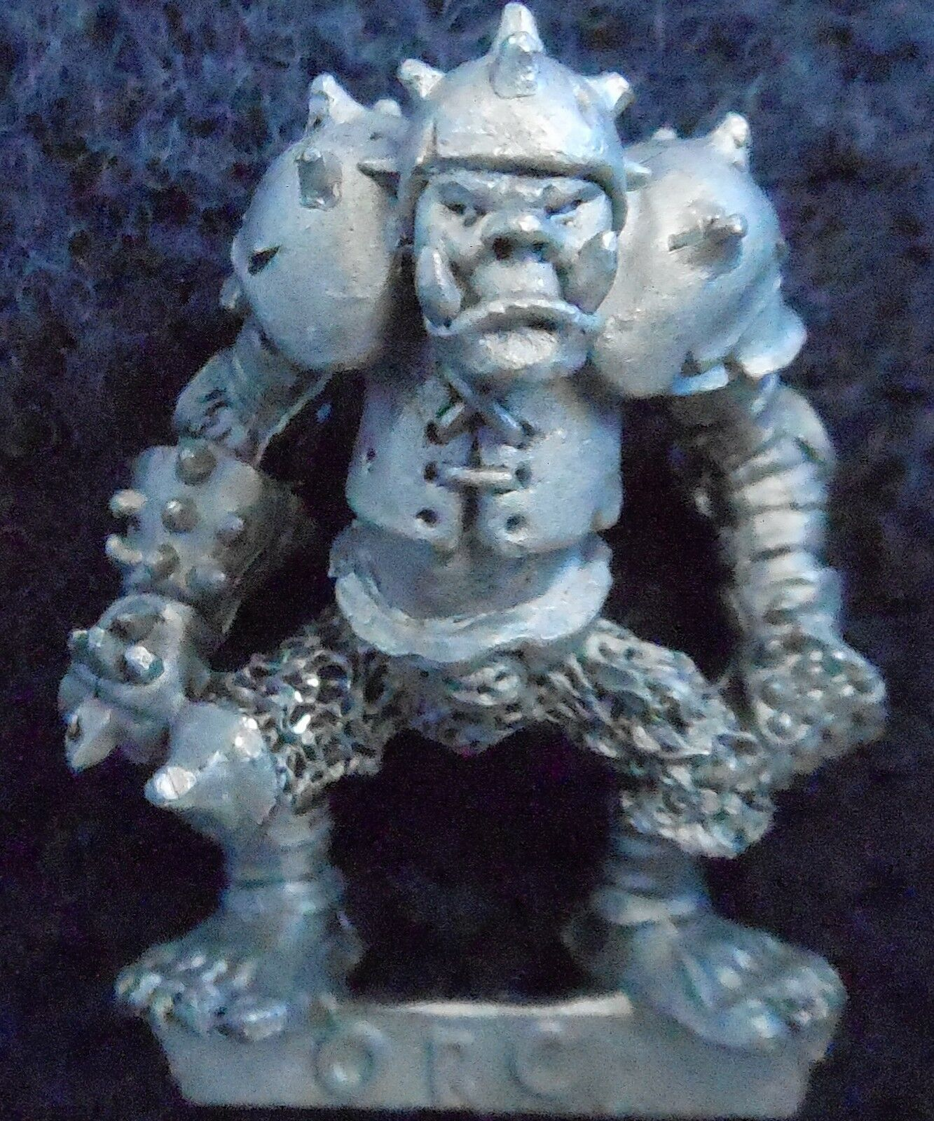 1985 Orc Bloodbowl 1st Edition Edition Edition Defender Citadel LE18 Limited Edition Team Ork GW 639aed