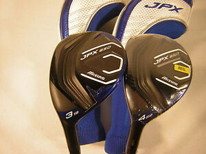 Lefty-Mizuno-Golf-JPX-850-3-amp-4-Hybrid-Graphite-Shaft-Regular-Flex-2-Piece-Set