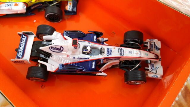 "Carrera Go 61102 Formel 1 BMW Sauber F1.07 Livery 2008 ""No.3"" NEU Rennbahn Auto"