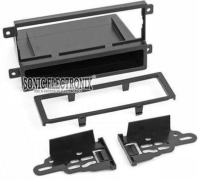 Scosche KA2068B Single DIN Installation Dash Kit for 2006-2010 Kia Optima