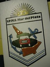 I.P.M.S. INTERNATIONAL PLASTIC MODELERS SOCIETY Ceramic Plaque, Mar del Plata