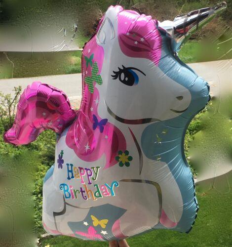 Einhorn Folienballon Heliumballon Einhornballon für Geburtstag