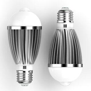 7w e27 led pir motion sensor detection lamp warmwhite bulb outdoor la foto se est cargando 7w e27 led pir motion sensor detection lamp aloadofball Choice Image