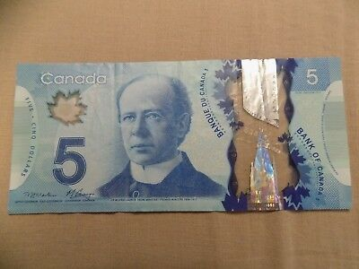 Bank Of Canada Industrious 2013 M.carney $5 Serial # Hbg1548257 Pleasant To The Palate
