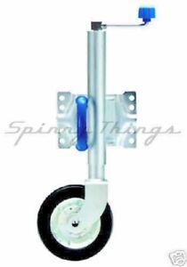 Swing-Up-Jockey-Wheel-8-034-Trailer-Parts-UBOLT-MOUNT