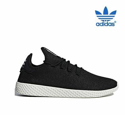 Adidas Pharrell Williams Tennis Hu Noir Fashion Baskets, Chaussures homme AQ1056 | eBay