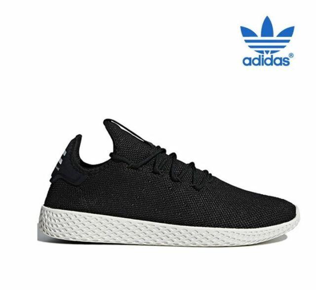reputable site 0077e 6ea03 Adidas Pharrell Williams Tennis Hu Black Fashion Sneakers,Shoes AQ1056 Men's