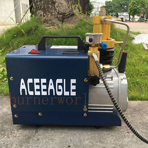 OBLLER Hochdruck Luft Kompressor 4500 PSI PCP Airgun Scuba Luftpumpe 300BAR 30Mpa