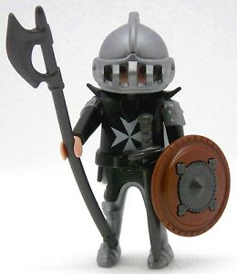 MALTAIS-CHEVALIER-PLAYMOBIL-Berserker-a-Medaille-Moine-croise-Chateau-fort-1754