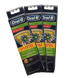 2-12-Org-Braun-Oral-B-Cross-Action-mit-Bakterienschutz-Aufsteckbursten-NEUHEIT