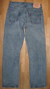 """Levi `S 501 D' Homme Jeans / Bleu en W34 """" / L34 """" - Cool Lavage"""