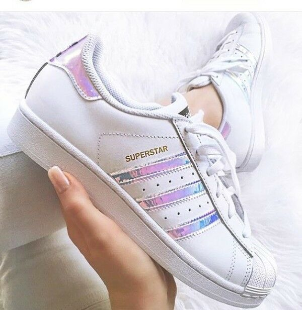 adidas superstar hologram metallic