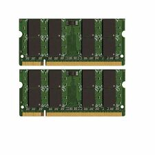 NEW! 8GB (2x4GB) Dell Inspiron 1750 DDR2-800 SODIMM Laptop Memory PC2-6400