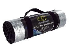 WATERPROOF THERMAL FOIL FOAM BACKED CAMPING BLANKET/SLEEPING ROLL MAT REFLECTIVE