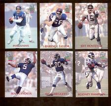1992 Power New York Giants Set LAWRENCE TAYLOR PHIL SIMMS JEFF HOSTETLER