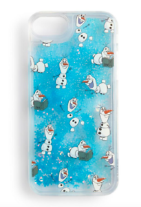 Details about DISNEY FROZEN 2 OLAF GLITTER IPHONE HARD CASE FOR APPLE IPHONE 6/7/8 PRIMARK
