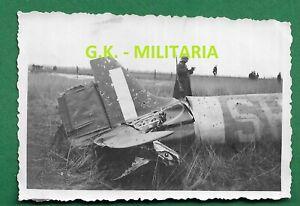 Foto-RAD-abgesch-engl-Spitfire-JG-53-Jagdflugzeug-Duenkirchen-2-WK-France-9