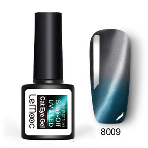 LEMOOC-8ml-Nagel-Gellack-Thermo-Magnetisch-Color-Changing-Nail-Art-UV-Gel-Polish