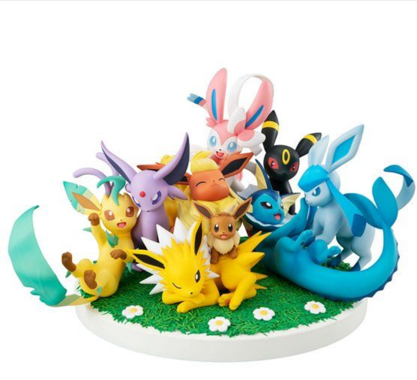 Figurine Pokemon Eevee Friends GEMEX Series
