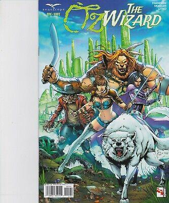 Oz The Wizard One-Shot Cover B Zenescope Comic GFT NM Rosete