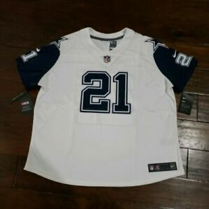 meet e5db7 65e85 Nike Womens NFL Dallas Cowboys Color Rush Stitched Ezekiel Elliott on  Field...