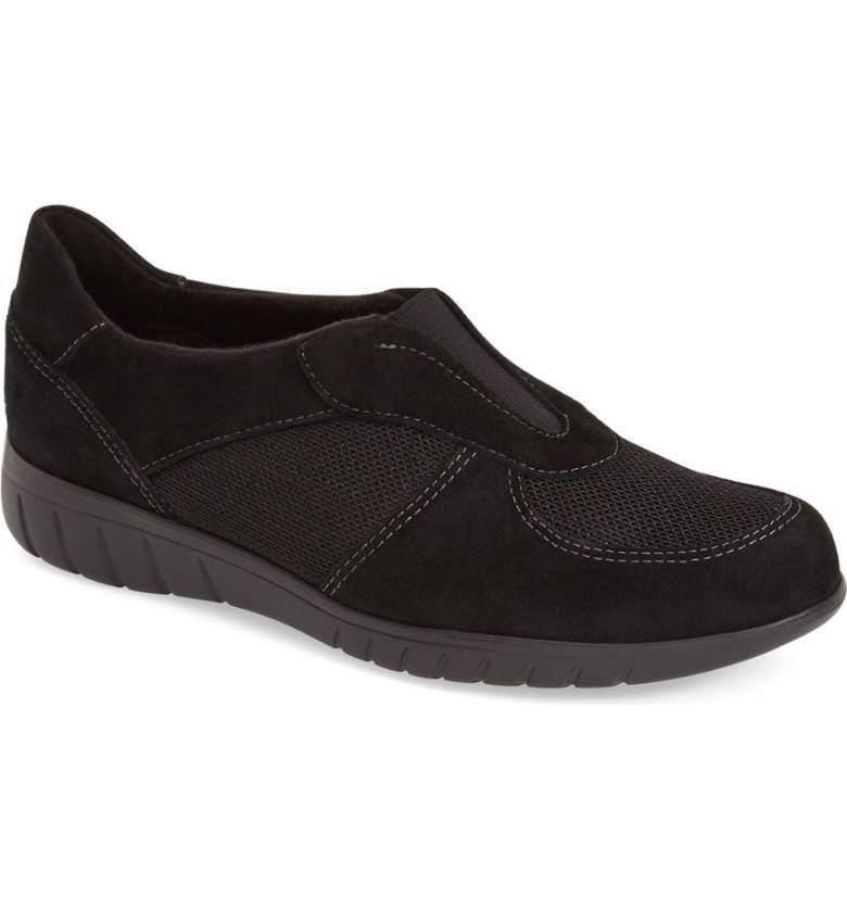 Munro American 'Olympia' Black Sneakers 2688 Size Size Size 7.5 Narrow 42f43e