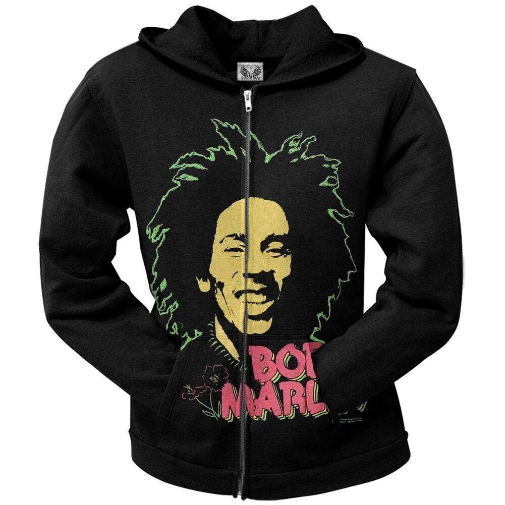 Bob Marley - Sweet Juniors Zip Hoodie Sweatshirt