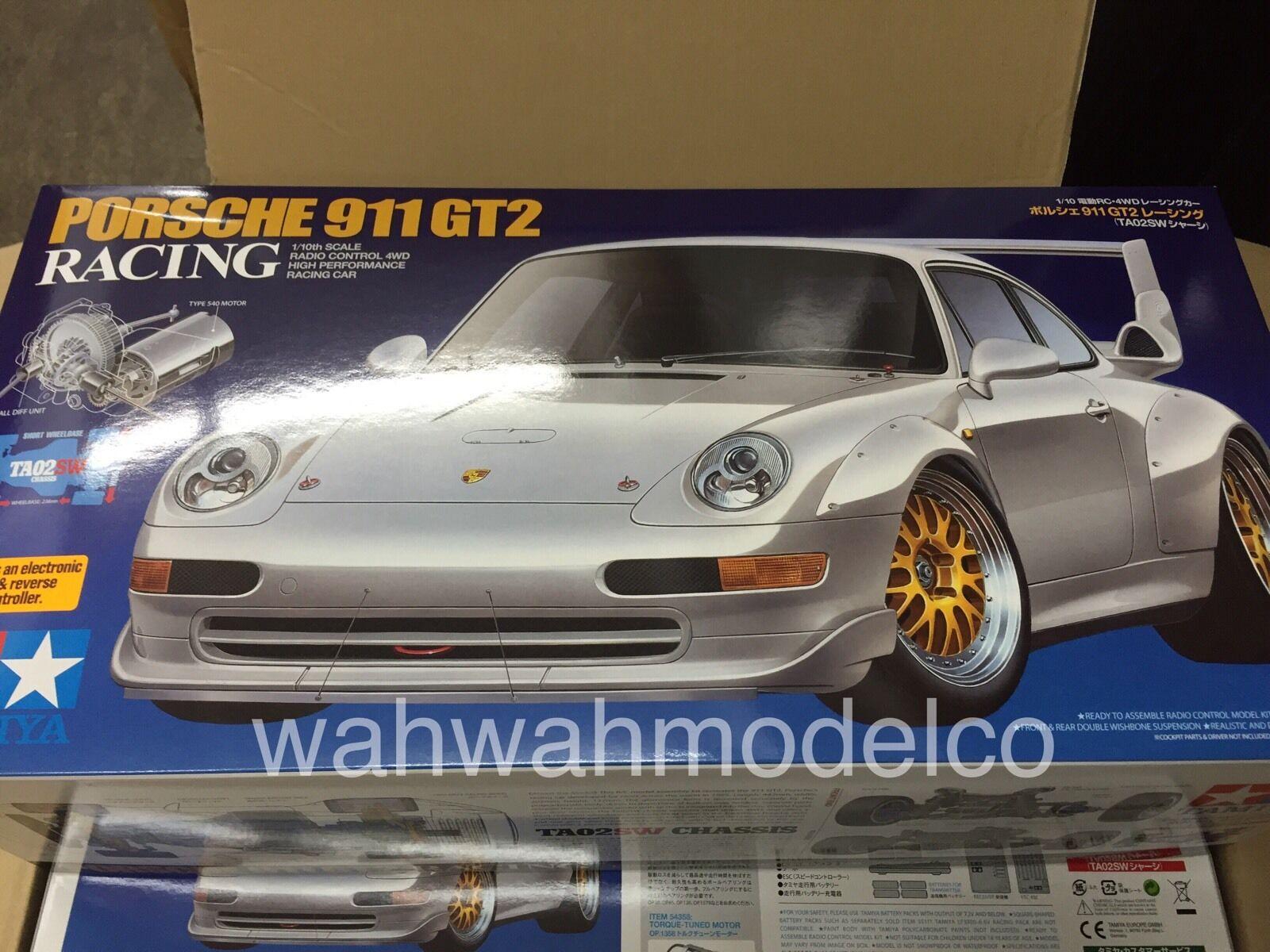 Tamiya 47321 Porsche 911 GT2 Racing - TA02SW