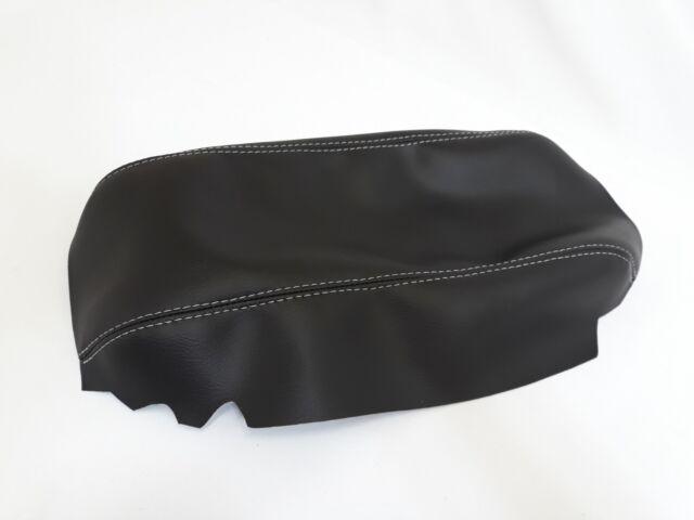 Corvette C5 Center Console Armrest Real Leather Black For 97-04