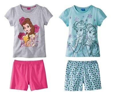Disney Princess Bell Oder Frozen Mädchen Shorty 86/92 98/104 110/116
