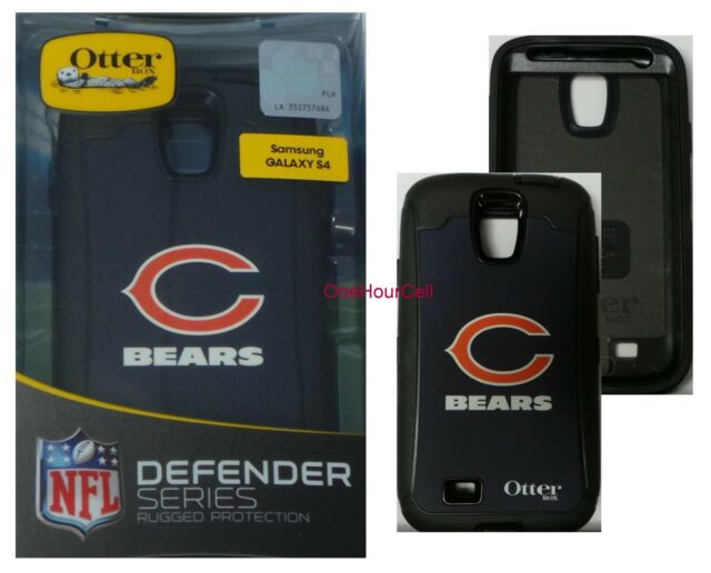 new product 32ec0 b3ae3 OTTERBOX Defender Series Case for Samsung Galaxy S4 NFL Chicago Bears