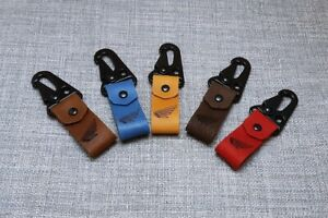 Motorbike leather key ring excellent gift