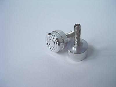 Smart fortwo 451/ 1 Stück Alu-Knopf für Flaschenhalter in poliert oder gebürstet