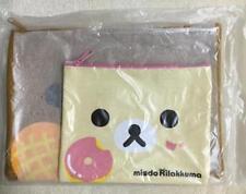 Rilakkuma Korilakkuma missed pouch set Mister donut Misdo SET Pouch bag RARE