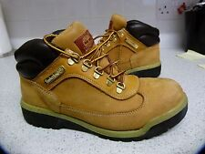 TIMBERLAND FIELD BOOTS WHEAT BROWN SUEDE  MENS UK 6.5
