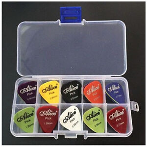 Alice-Guitar-Pick-1-box-case-40-Pieces-plectrum-mediator-mix-0-58-1-5-Q1V5