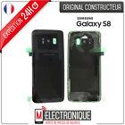 Vitre arrière Noir / Midnight Black Original Samsung Galaxy S8 G950