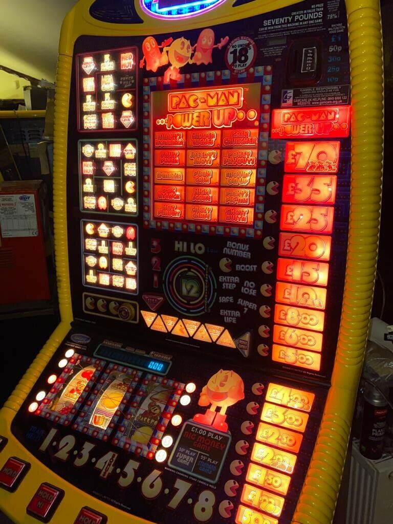 Pac-Man Power Up Jackpot - Free Delivery!