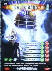 WHO BATTLES IN TIME NO.005 Chained Dalek DR