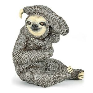 SLOTH-with-BABY-Replica-50214-New-For-2017-FREE-SHIP-USA-w-25-Papo-Product