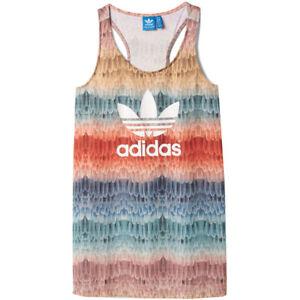Details about Adidas Originals x the Farm Company Menire Tank Top Women Shirt Feathers Bird